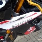 Triumph 675 - Max Riebe - Triumph Challenge 2013 - Boso-Design »Blood & Tarmac« by Steven Flier