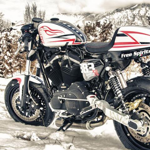 Free Spirits Harley Davidson 883R »Speedo«