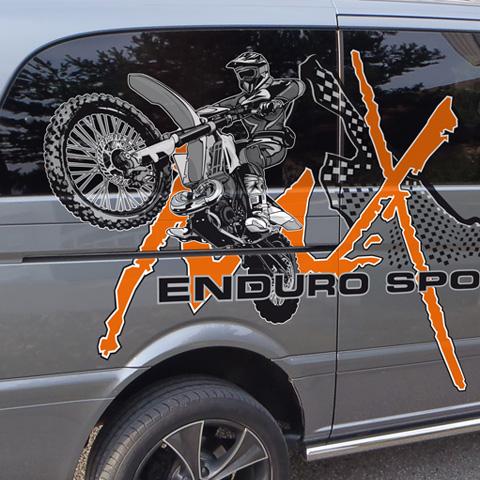 Team Zettel – GasGas – MB Vito Sport Design