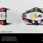 Top-View of my »Digital BodyArt Design«. The tail with coming fans & sponsors.