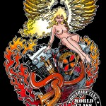 PinUp Knucklehead Angel - God Loves Cowboys