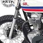 PinUp - Cafe Racer Girl W800 - LSL Motorradtechnik - Details
