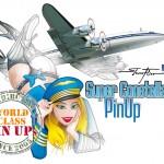 Flight Girl PinUp Super Constellation