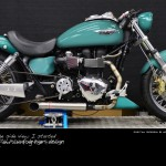 The virtual tuning pre-work on the Free Spirits Triumph America