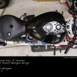 Before my Virtual Tuning - the original view of the Free Spirits Triumph America