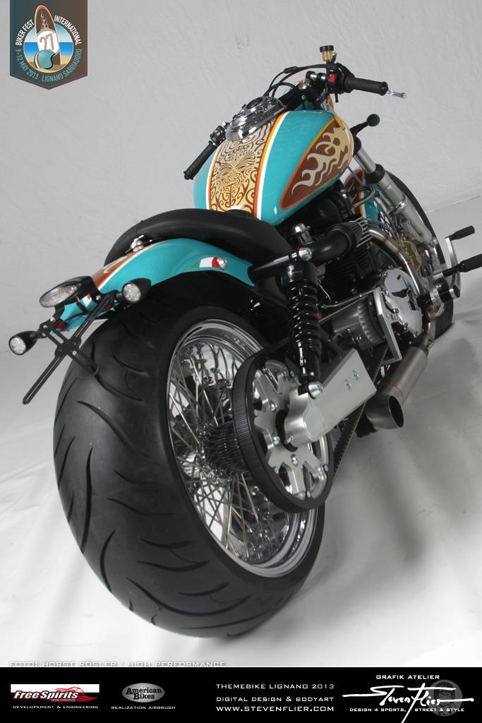 Free Spirits Triumph America – Themebike »27th Bikerfest Lignano Sabbiadoro«
