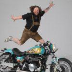 The team of the themebike »27th Bikerfest Lignano Sabbiadoro«: Hups - Airbrush