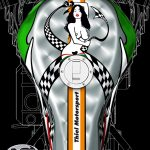 CR&S VUN Design - tank pinup with an erotic touch