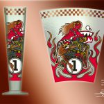 RITZENHOFF Black Label - Speedangel V8 - beer glass design - Steven Flier