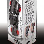 ORTEMA V8 Knee Brace - Package Design - 3D Demo View