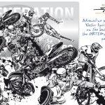 Sport Illustrations - ORTEMA Package Design