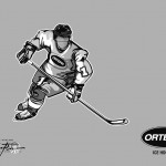 ORTEMA - Sport-Illustration Ice Hockey