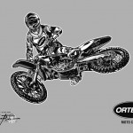 ORTEMA - Sport-Illustration Moto Cross