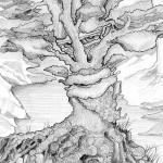 Pencil Illustration Fabulous Beast - Siegerbaum - Details