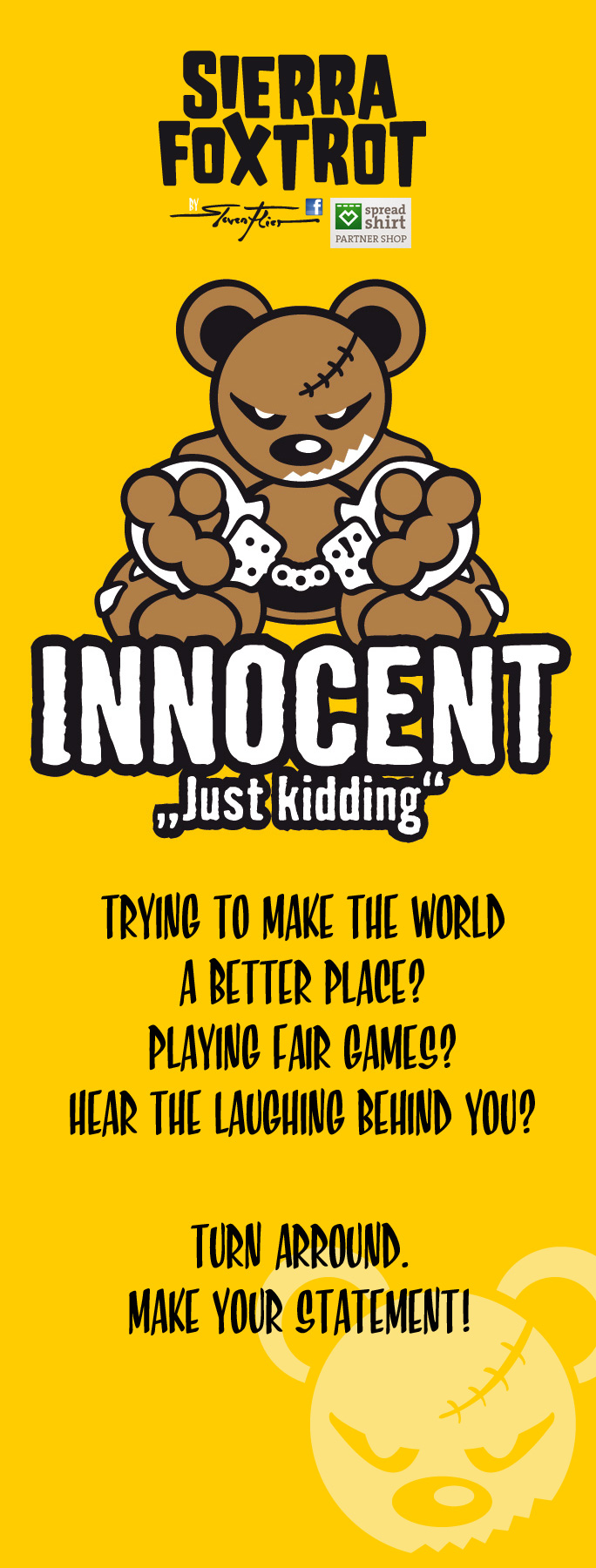 Steven Flier - Innocent - Just Kidding Teddy