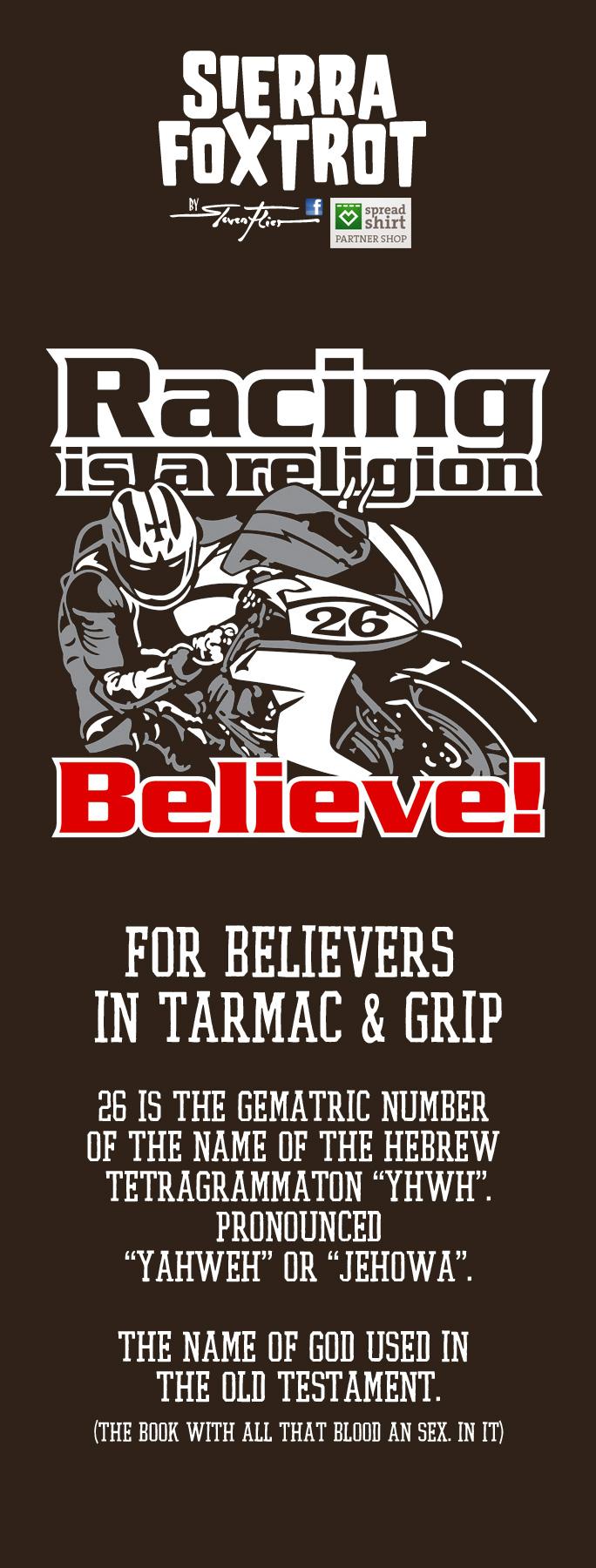 Steven Flier - Racing Religion - Believe