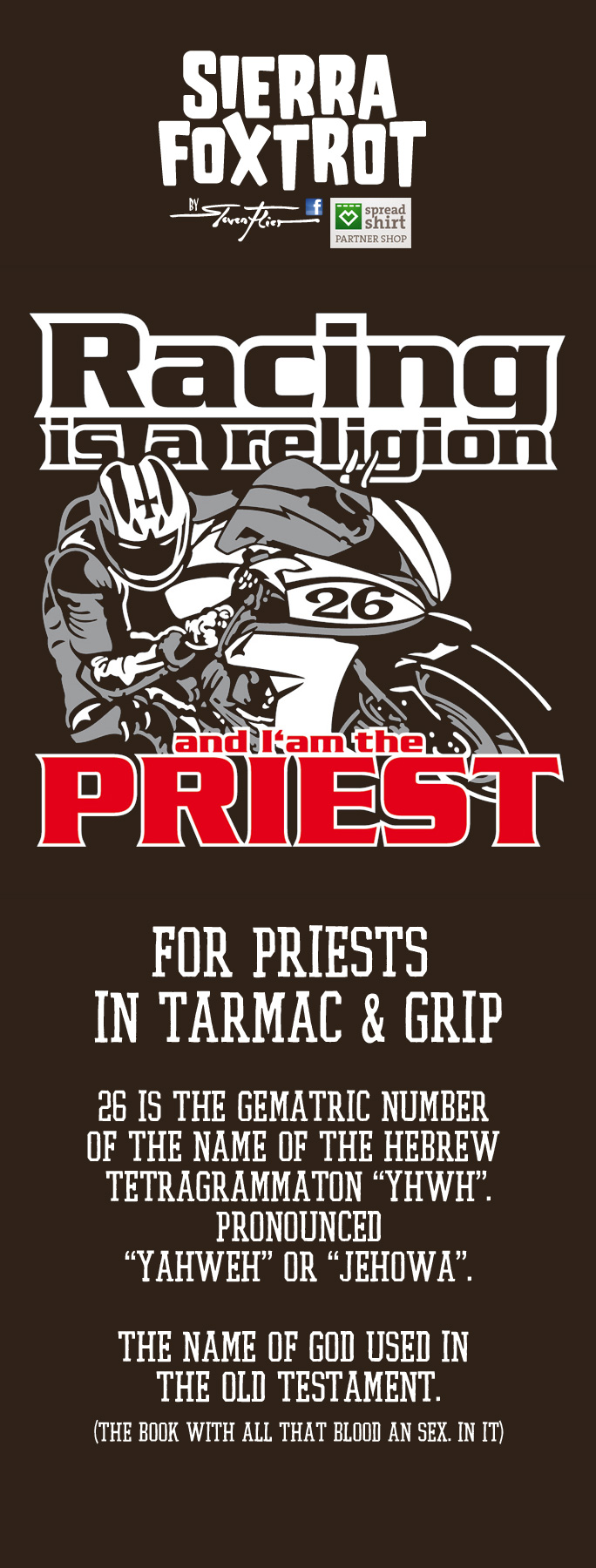 Steven Flier - Racing Religion - Priest