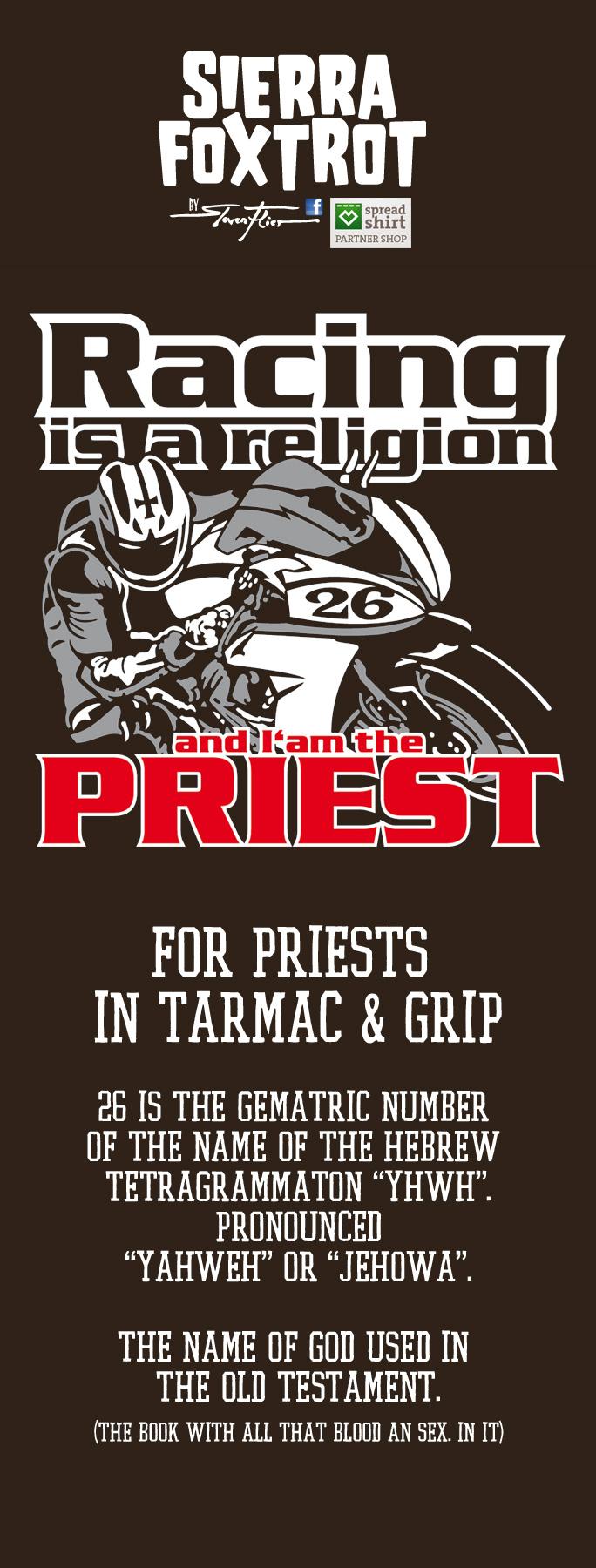 Steven Flier - Racing Religion - Priest