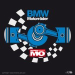 Label for the german issue of BMW Motorcycles by MO Motorcycle Magazine - www.mo-web.de