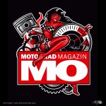 PinUp-Label for the german MO Motorcycle Magazine - www.mo-web.de