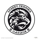 Personal label for the »Street-Terrier Garage«