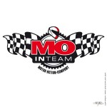 Logo for the MO Motorcycle Magazine InTeam - Promoting Race'n'Fun - www.mo-web.de