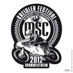 Label and T-Shirt motif for the »Kreidler-Event 2012« of the MSC-Ludwigsburg - www.mscludwigsburg.de