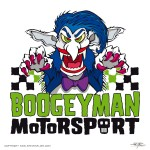 Logo for Boogeyman Motorsport - now in Texas!