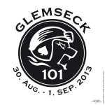 This one is famous! The »Glemseck 101« logo one of the largest motorcycle-events in Europe