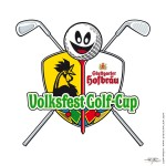 Logo »Volksfest Golf-Cup« Logo - Stefan Kunz. For his famous »Stuttgarter Golfdays« - www.stuttgarter-golftage.de