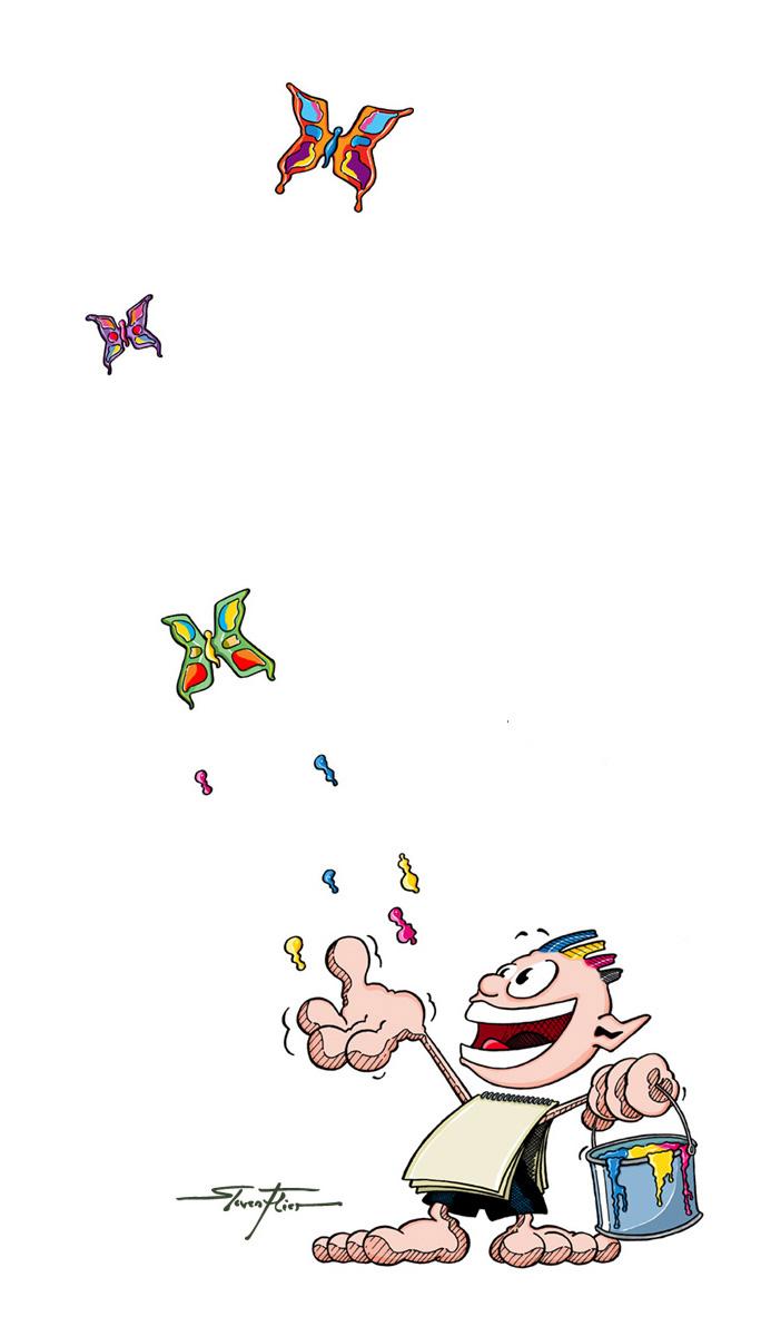 Mauthe, Comic, Charakter, Illustration, Steven Flier, Agentur Brockschmidt, Mauthe GmbH