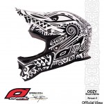 O'Neal Airtech 2 Oozy - Maori Design - Black-White by Steven Flier