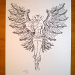 For Sale! Original PinUp Drawing - Steven Flier