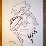For Sale! Original Speedangel Drawing - Steven Flier
