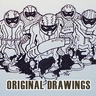 Originalzeichnungen Steven Flier