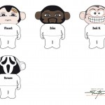 Agentur PANAMA - Sparky-Faces - Illustration