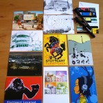 PinUp Speedangel - Film Commission Stuttgart - Postcard