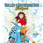 PinUp Vespagirl 2010 - Roller & MotorradBox Stuttgart