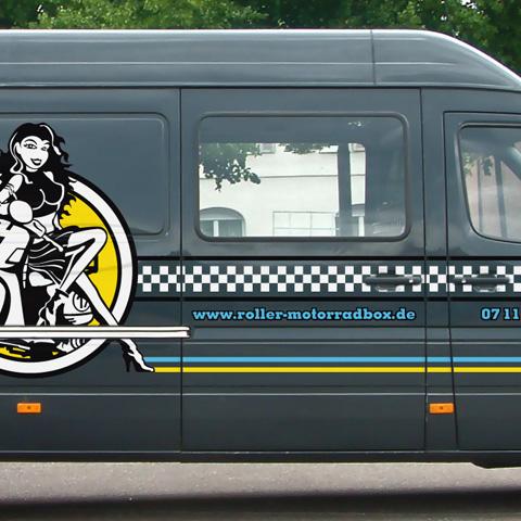 Roller & MotorradBox – MB Sprinter Design