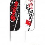 Motorrad Sattler - Beachflags - Motorcycles and E-Bikes