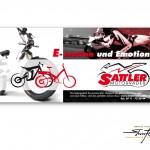 Motorrad Sattler - Flyer - Motorcycles and E-Bikes