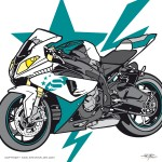 STUBA BMW S 1000 RR - Icon and Label - www.stuba.de