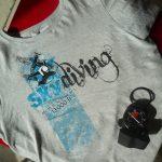 T-Shirt Skydiving Skytandem.de