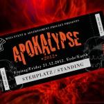 Ticket for the big Apocalypse Show - Steven Flier