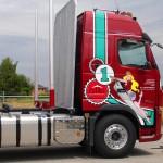 Zettel Holztransporte Volvo FH 16 Design