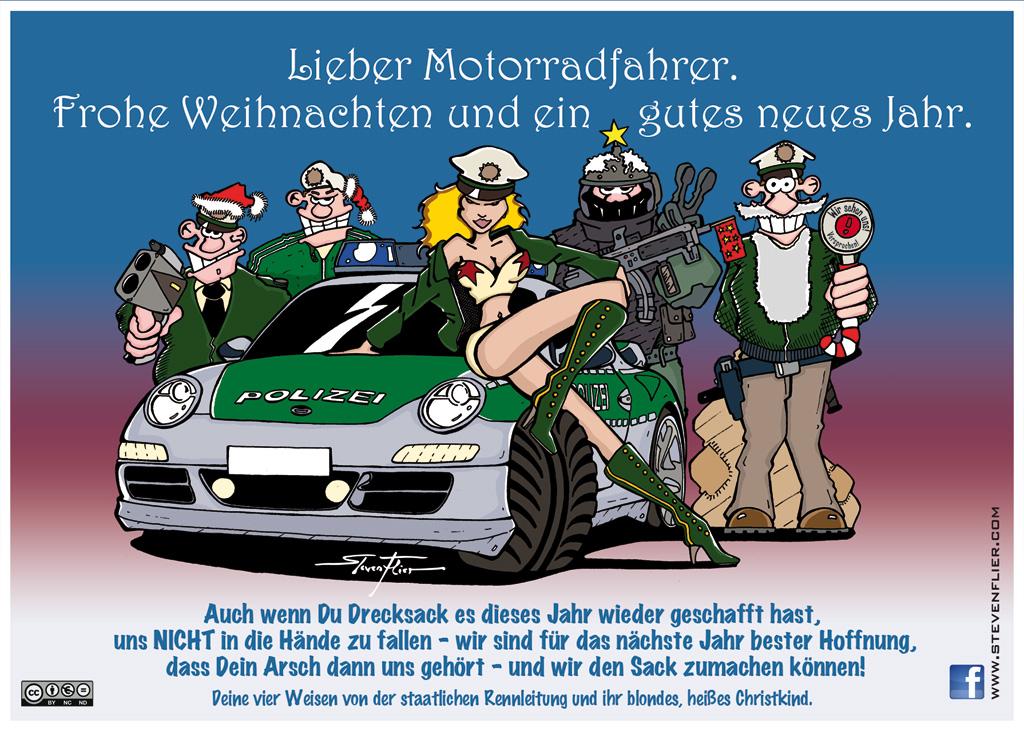 Bmw Motorrad Weihnachtsgrüße.Grafik Atelier Steven Flier For Free Motorcycle Christmas Cards