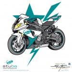 Stuba Illustration BMW S 1000 RR