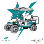 Stuba Illustration Golfcart