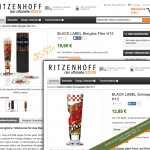 RITZENHOFF Black Label - Beer glass Steven Flier - Sold Out!