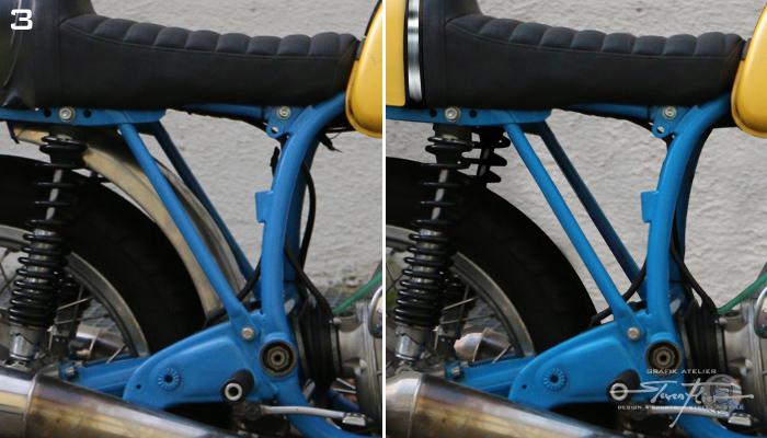 Virtual Tuning '78 BMW R100 Cafe Racer - Rahmendreieck / Frame Triangle